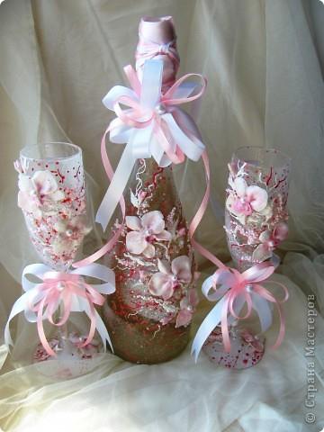 """свадебный набор """"Свадебные орхидеи"""" фото 3"""