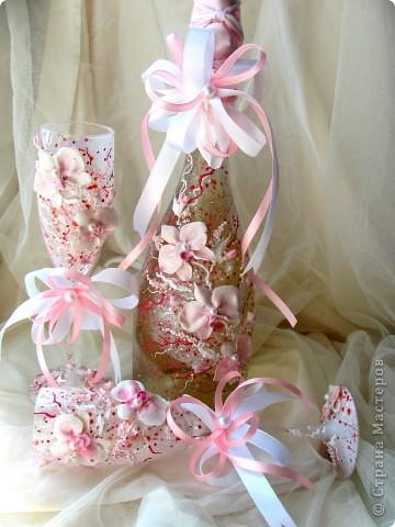 """свадебный набор """"Свадебные орхидеи"""" фото 1"""