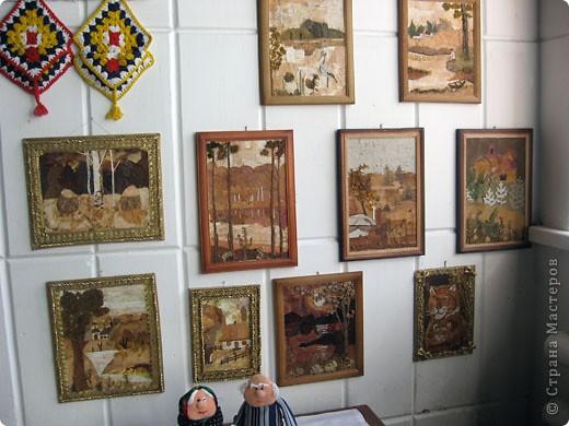 """Еще один конкурс - """"Прикосновение к истокам"""". Здесь представлены картины, панно, поделки в разных техниках.  фото 3"""