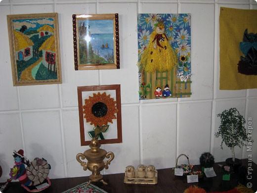 """Еще один конкурс - """"Прикосновение к истокам"""". Здесь представлены картины, панно, поделки в разных техниках.  фото 10"""