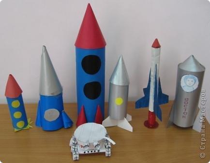 Разные объемные модели ракет. фото 1