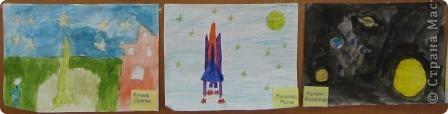 Такой получился стенд ко дню космонавтики. фото 7