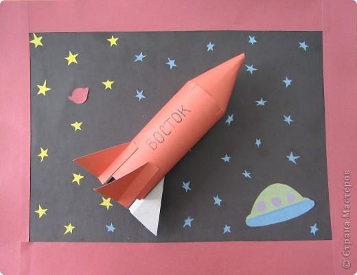 Разные объемные модели ракет. фото 4