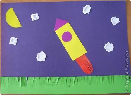 Разные объемные модели ракет. фото 8