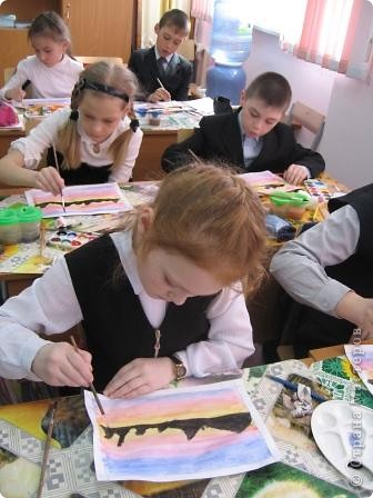 Огромное спасибо Галёне за подробный мастер-класс. Детям очень понравилось рисовать! фото 2
