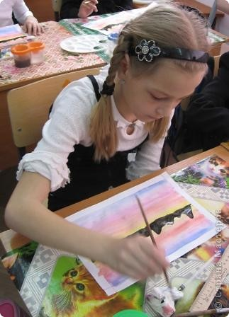 Огромное спасибо Галёне за подробный мастер-класс. Детям очень понравилось рисовать! фото 3