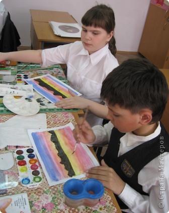 Огромное спасибо Галёне за подробный мастер-класс. Детям очень понравилось рисовать! фото 4