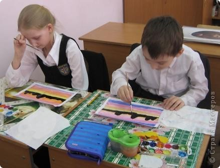 Огромное спасибо Галёне за подробный мастер-класс. Детям очень понравилось рисовать! фото 5