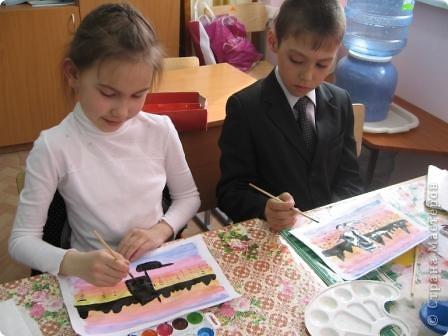 Огромное спасибо Галёне за подробный мастер-класс. Детям очень понравилось рисовать! фото 6
