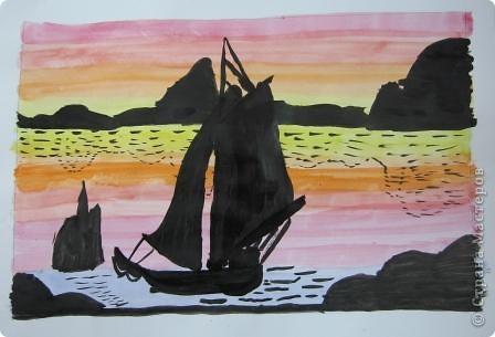 Огромное спасибо Галёне за подробный мастер-класс. Детям очень понравилось рисовать! фото 7
