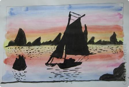 Огромное спасибо Галёне за подробный мастер-класс. Детям очень понравилось рисовать! фото 8