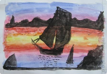 Огромное спасибо Галёне за подробный мастер-класс. Детям очень понравилось рисовать! фото 10