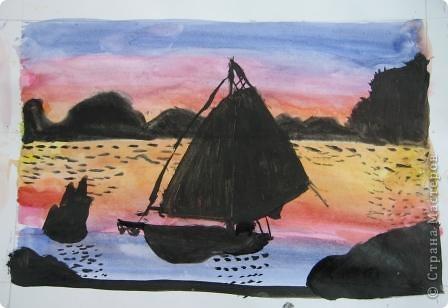 Огромное спасибо Галёне за подробный мастер-класс. Детям очень понравилось рисовать! фото 11