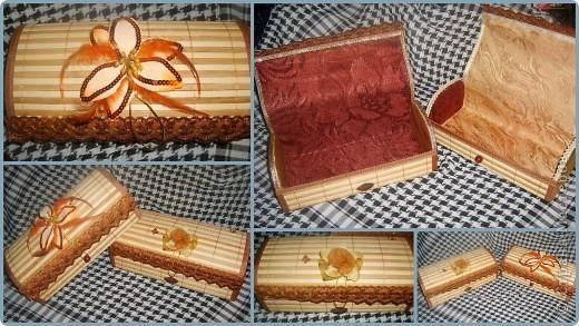 бамбуковые шкатулки фото 4