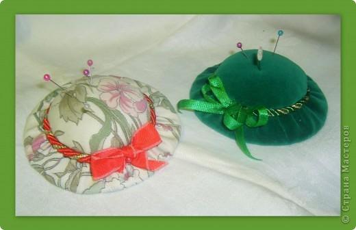 игольницы-шляпки фото 1
