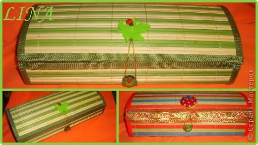 бамбуковые шкатулки фото 1