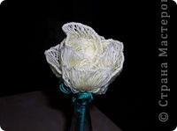 Вязание на линейке - цветы фото 1