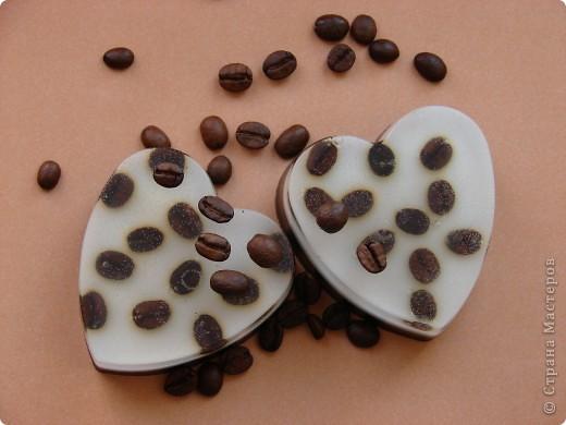 Вот они! Кофейные сердечки! Пахнут просто потрясающе! Как свежесваренное кофе. фото 4