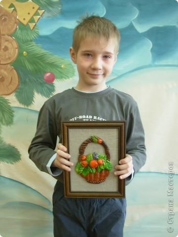 Игорёк 7 лет. Работы оформляла я. фото 1