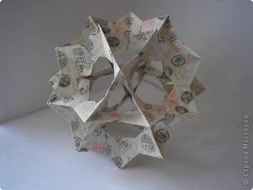Мне понравилась бумага в рабботе. Это продолжение предыдущей работы http://stranamasterov.ru/node/187717?tid=850. Из одного листа бумаги. Всегда на Электру сажала цветы, а вот эта понравилась без них. Пока оставила ее так. фото 1