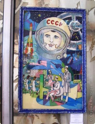 Представляю Вашему вниманию фоторепортаж с  краевого конкурса, посвящённого Дню Космонавтики. Выставка получилась очень интересной, красочной и разнообразной. фото 9