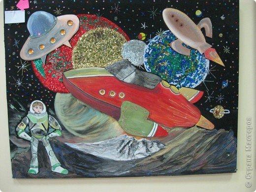 Представляю Вашему вниманию фоторепортаж с  краевого конкурса, посвящённого Дню Космонавтики. Выставка получилась очень интересной, красочной и разнообразной. фото 28