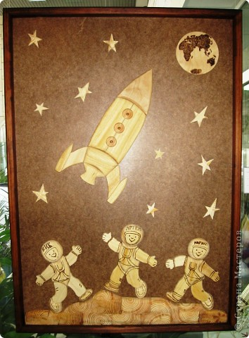 Представляю Вашему вниманию фоторепортаж с  краевого конкурса, посвящённого Дню Космонавтики. Выставка получилась очень интересной, красочной и разнообразной. фото 13