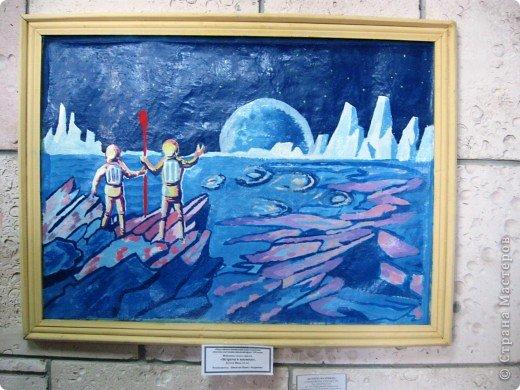 Представляю Вашему вниманию фоторепортаж с  краевого конкурса, посвящённого Дню Космонавтики. Выставка получилась очень интересной, красочной и разнообразной. фото 25