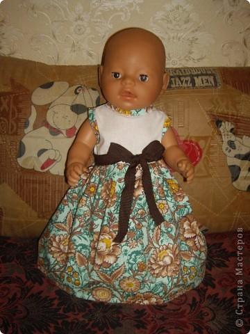 Платья для Беби Бон фото 10