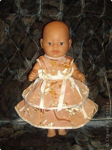 Платья для Беби Бон фото 7