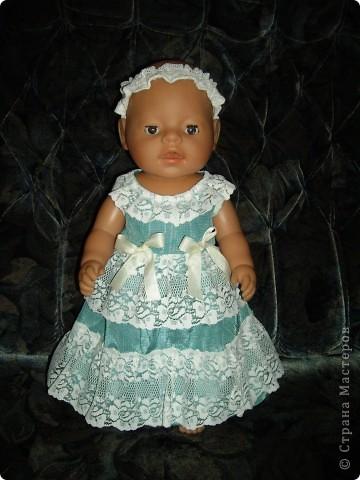 Платья для Беби Бон фото 5