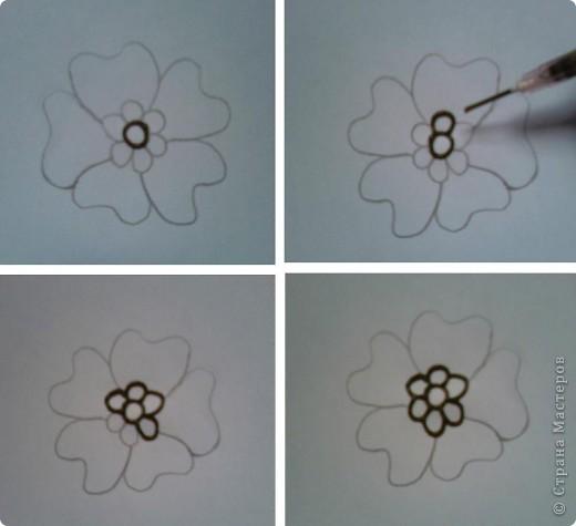 """Начало:   Введение 1    http://stranamasterov.ru/node/187189 Введение 2   http://stranamasterov.ru/node/187435 Начинаем с малого, учимся рисовать отдельные элементы. Для начинающих легче всего учиться рисовать хной на бумаге, нарисовав рисунок карандашом, а когда появиться уверенность, тогда можно попробовать на руках. И так 1-ый элемент. """"Бугорок""""  Бугорок, наиболее часто используемый элемент в рисунках расписанных хной. Ниже показаны элементы, для того чтобы более точно нарисовать на коже изображение с бугорками.    фото 12"""