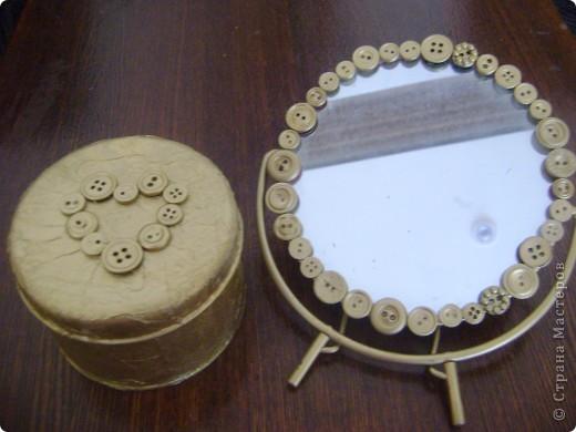 Вот мой комплект: зеркало и шкатулка фото 1