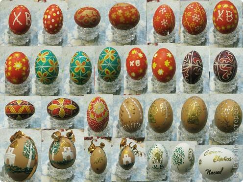 Как на праздник Пасхи мы с мамой яйца разукрасили! фото 2