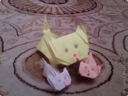 Котята оригами