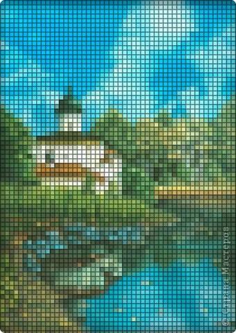 церква на берегу реки фото 1