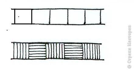 """Начало: Введение 1  http://stranamasterov.ru/node/187189 Введение 2  http://stranamasterov.ru/node/187435 Урок 1         http://stranamasterov.ru/node/187799 Сегодня будем учиться рисовать один из распространённых элементов, который часто используется """"Чёрточки"""" фото 5"""