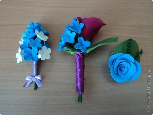 это мои цветочки из самоотвердевающей пластики