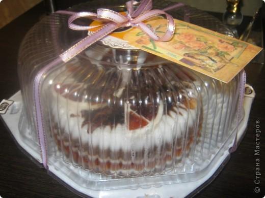 Вот и у меня появился повод сделать свой первый мыльный тортик, делался на заказ, на юбилей фото 3