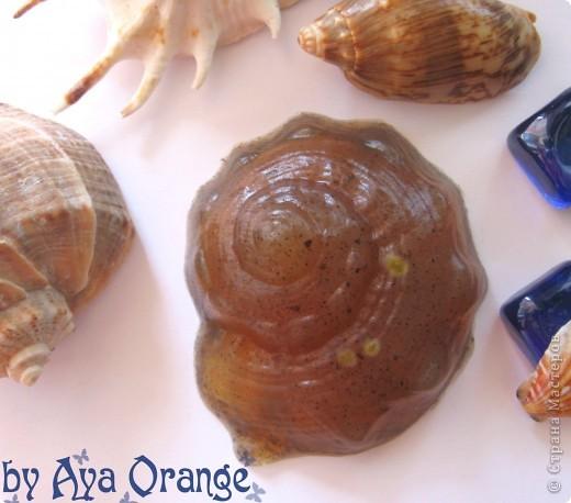 мыло ручной работы:) содержит витамин а, льняное масло, кофе, аромат мандарин шоколад фото 4