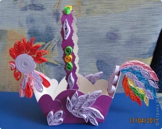 Праздничные корзиночки Увидела на вашем сайте очаровательных петушков, а когда начала делать получились вот такие фото 1