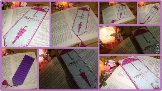 закладочка с ней даже самая скучная книга становится интересней:) фото 2