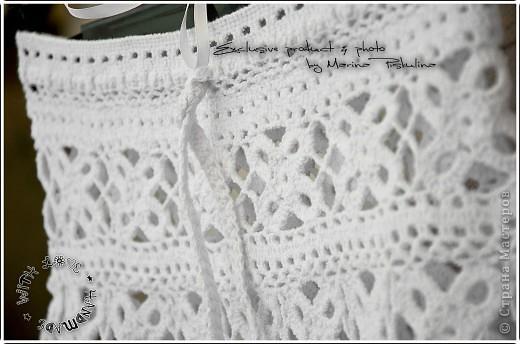 Пляжная юбочка с квадратными мотивами фото 2