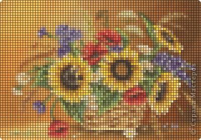 схемы для вышивки летней тематики фото 4