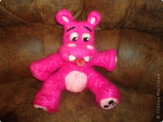 Розовый бегемотик фото 2