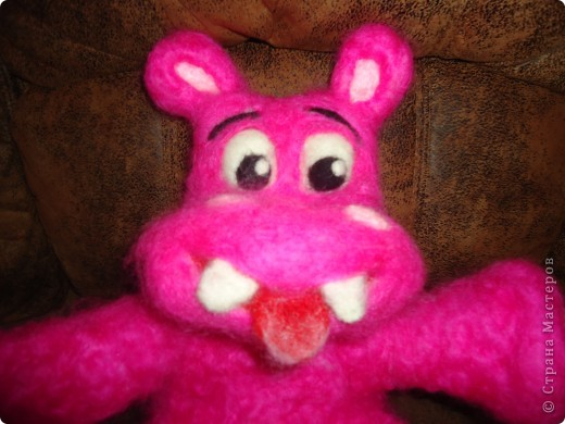 Розовый бегемотик фото 4