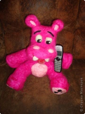 Розовый бегемотик фото 5