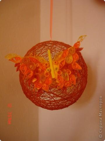 Украшаем подоконники или пополнение коллекции ниточных шаров)))) фото 5