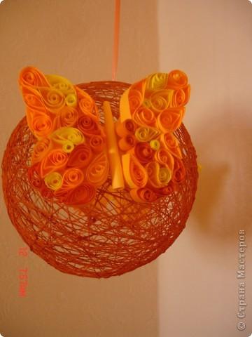 Украшаем подоконники или пополнение коллекции ниточных шаров)))) фото 6