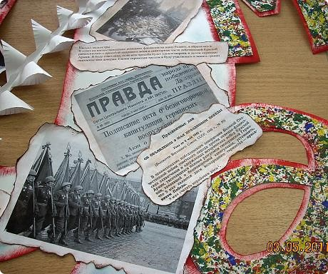 Сегодня сдали газету на конкурс (или не на конкурс, просто праздничную...). Почти все идеи - из Страны Мастеров. Форма газеты - от Евгеши http://stranamasterov.ru/node/172225  фото 3
